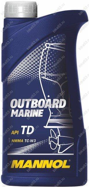 масло для лодочных моторов mannol outboard marine